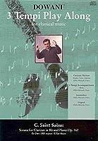 Sonata for Clarinet in Bb and Piano Op. 167: Es-dur / Mib Majeur / E Flat-major (3 Tempi Play Along)