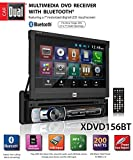 Dual Electronics XDVD156BT Multimedia Retractable & Detachable 7-inch LED...