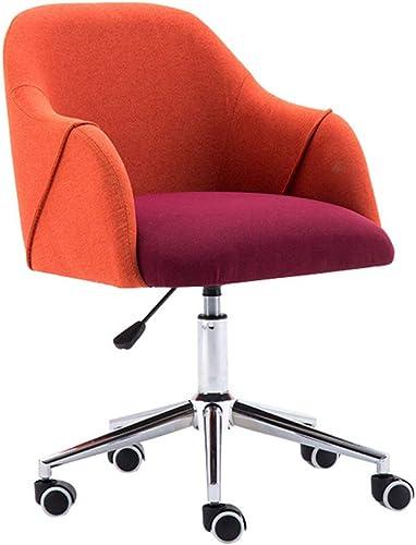compras en linea JZWX JZWX JZWX Silla ergonómica para Oficina Silla de Oficina con reposabrazos en naranja,cottonandColor  buena calidad