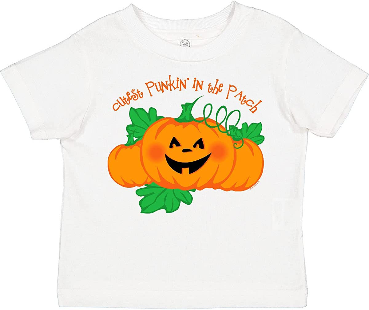 inktastic Cutest Punkin' in The Patch Toddler T-Shirt