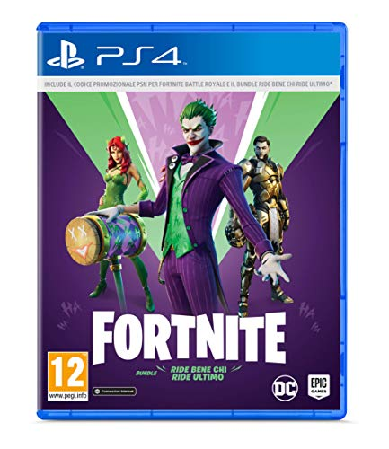 Fortnite Ride Bene Chi Ride Ultimo, Bundle, PlayStation 4 (include Codice di Downlaod - Non contiene CD)