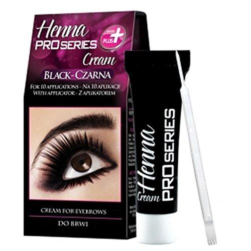 Verona Henna Creme für Augenbrauen und Wimpern 30 ml Schwarz
