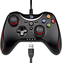 ZD T Gaming Wired Gamepad Controller Joystick for PC(Windows XP/7/8/8.1/10) / Playstation 3 / Android/Steam - Not Support ...