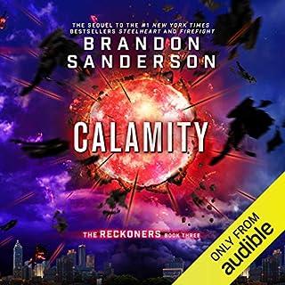 Calamity audiobook cover art