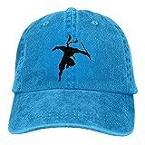 Presock Gorras De Béisbol Black Ninja Denim Hat Adjustable Men Tactical Baseball Cap