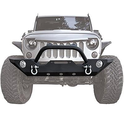 ICARS Jeep Bumper Kit for Jeep Wrangler 2007-2017