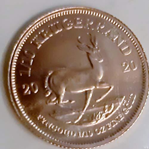 1/10 Unze oz Gold Krügerrand Goldmünze in Münzkapsel