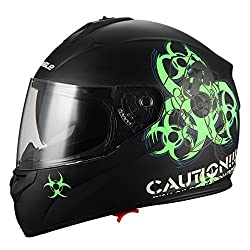 Biohazard Motorcycle Helmet
