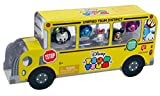 Tsum Tsum Disney Metallic Limited Edition Figures School Bus Pack