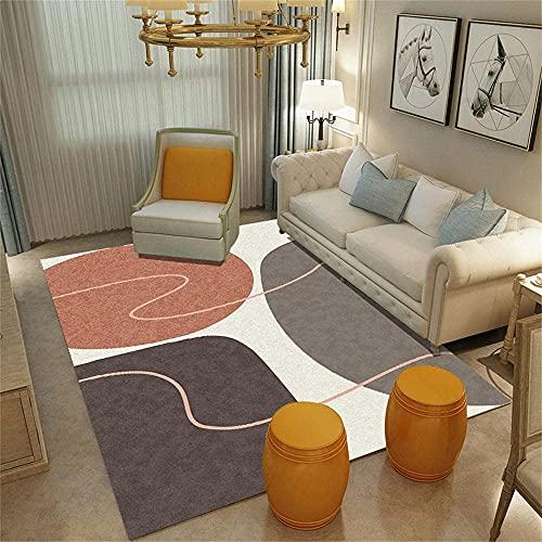 WQUANB Tappeti e Moquette Tappeti per Patio Crystal Velvet Rumors Rosso Rettangolare Moderno Soggiorno Decorazione Home Decor 200x300cm Tappeti Piccoli