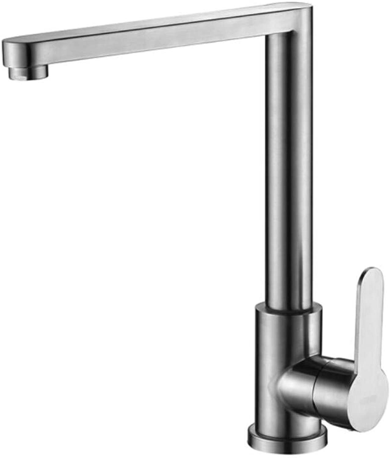 Taps Mixer?Swivel?Faucet Sink 304 Stainless Steel Kitchen Faucet