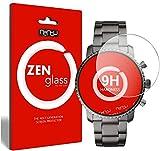 ZenGlass Flexible Glas-Folie kompatibel mit Fossil Q Explorist Panzerfolie I Bildschirm-Schutzfolie 9H