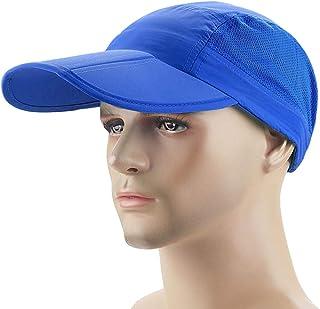 Festnight Men Women Quick Dry Breathable Mesh Cap Adjustable Sports Sun Hat Fishing Baseball Hat