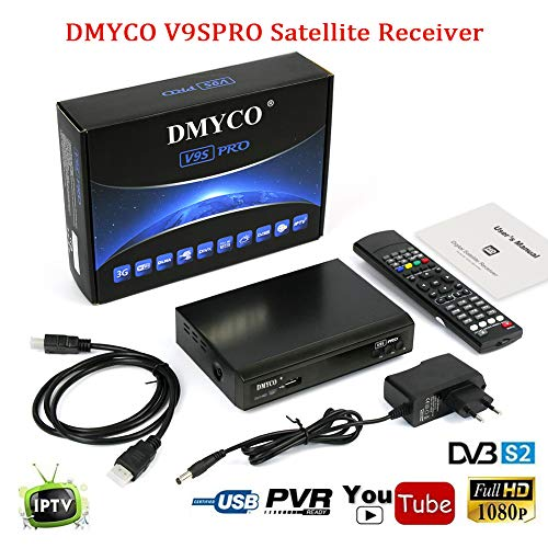 Satellite Receiver FTA Signal Meter TV Tuner Sat Decoder DVB-S2 Digital TV Equipment , Supports...