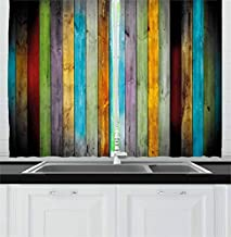 Best colorful kitchen curtains Reviews