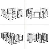 Songmics Welpenauslauf für Hunde Kaninchen 80 x 60 cm PPK86G - 4