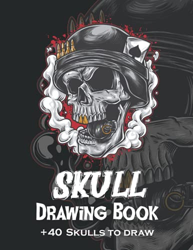 how to draw skulls book - 1