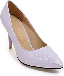 BalaMasa Womens APL11481 Pu Stiletto Heels