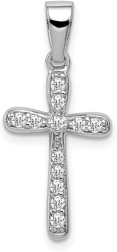 Ryan Jonathan Superlatite Fine Popular popular Jewelry Sterling Cross Zirconia Silver Cubic