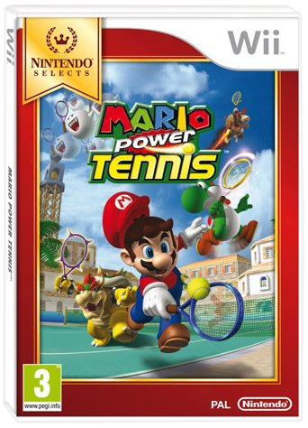 MARIO POWER TENNIS SELECT WII