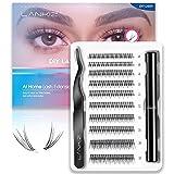 LANKIZ Individual Lashes Kit, 12D DIY Eyelash Extension...