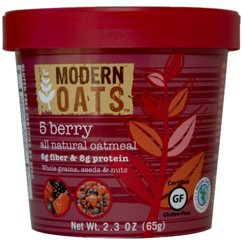 Modern Oats 5 Berry Oatmeal, 2.3 Ounce (Pack of 12)
