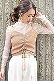 [フリーズマート] セーター ドロストリブニットビスチェ レディース ピンク 日本 FR (FREE サイズ)