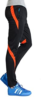 Men's Athletic Soccer Training Pants Fitness Sweatpant(Please Order A Size Up)