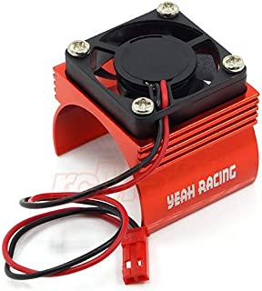 RC Cars Accessories - Ya-0410rd Aluminum 540 Motor Heat Sink W or Cooling Fan Red