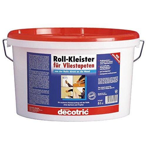 Rollkleister - decotric - Roll Kleber für Vliestapeten - gebrauchsfertig - 5 Liter