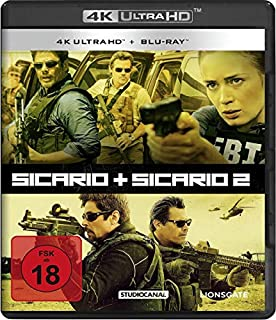 Sicario 1 & 2 / (4K Ultra HD) [Blu-ray]