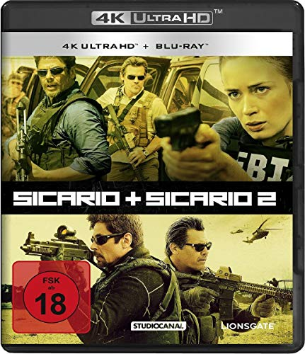 Sicario 1 & 2 (2 4K Ultra-HD) (+ 2 Blu-ray's)