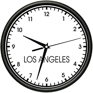 SignMission Los Angeles Wall World time Zone Clock Office Business, Beagle