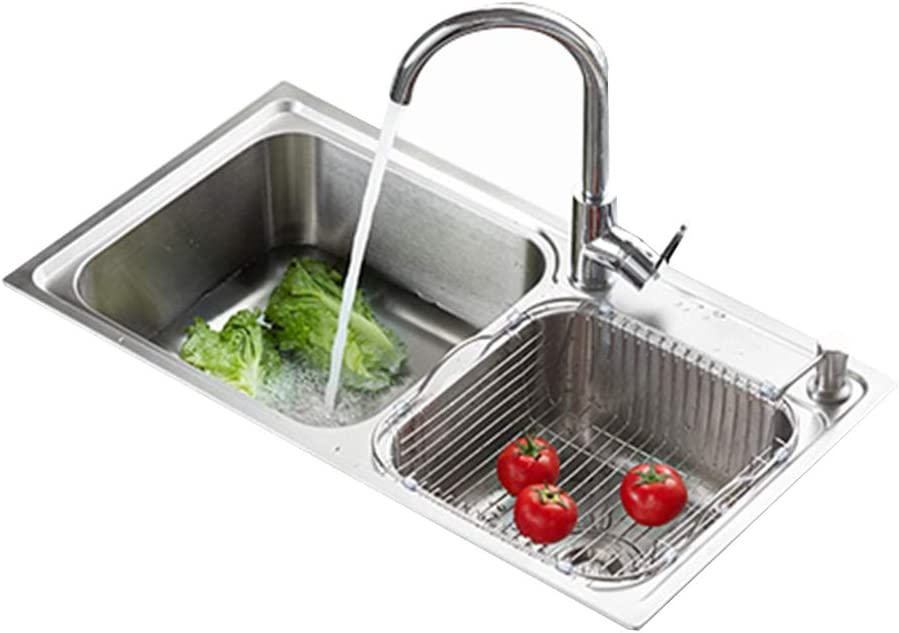 Kitchen Sinks Many popular brands Stainless Steel Direct stock discount 304 Package Sink Double