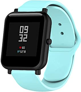 Klaas NIC 22mm Silicone Band for Samsung Galaxy Watch 46mm/Gear S3 Classic/Frontier,Quick Release Strap for Women Men Amazfit Pace/GTR 47MM/Huawei 2/Fossil Q Smart Watch