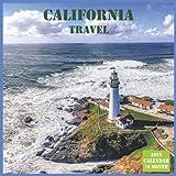 California Travel Calendar 2022: Official US State California Calendar 2022, 16 Month Calendar 2022