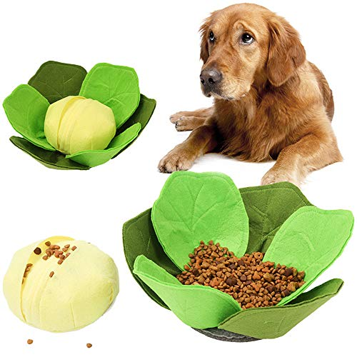 Pet Kool Snuiven Hondenmand Foraging Mat Washable Soft Pet Training Slow Food Dog Bowl Stress Release Pad Puzzle Speelgoed Voor De Hond