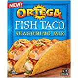 Ortega Seasoning Mix, Fish Taco Seasoning, 1 Ounce (Pack of 12)