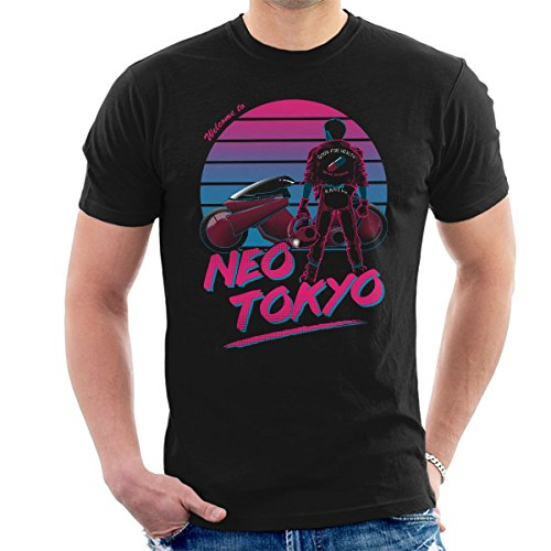 Akira Welcome To Neo Tokyo Men's T-Shirt