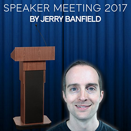 Speaker Meeting 2017 audiobook cover art