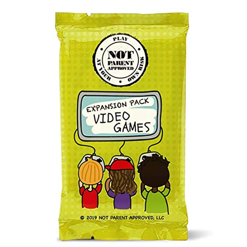 Not Parent Approved Video Game Card Expansion Pack (Core Game Sold Separately): A Fun Card Game for...
