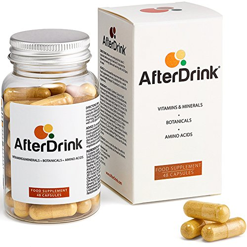 AfterDrink : Milk Thistle, NAC, Ginger & More - Made in The USA