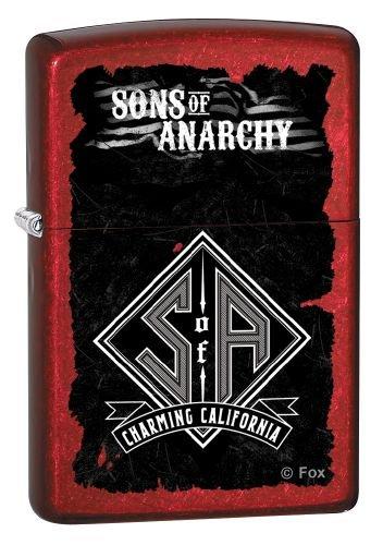 Zippo 60002663 Sturmfeuerzeug SOA Sons of Anarchy