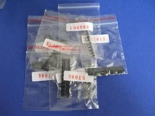 SMD/SMT transistor and diode assortment kit, 35 values total 350pcs SMT SOT-23