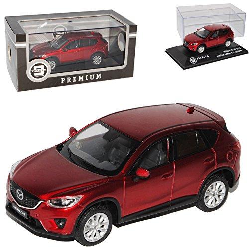 Ixo Mazda CX-5 Rot SUV Ab 2011 limitiert Triple 9 1 von 1008 1/43 Modell Auto mit individiuellem Wunschkennzeichen