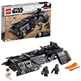 LEGO Star Wars: The Rise of Skywalker Knights of Ren Transport Ship 75284 Spacecraft Kit, Features Knights of Ren and Rey Minifigures to Role-Play Star Wars Missions, New 2020 (595 Pieces)