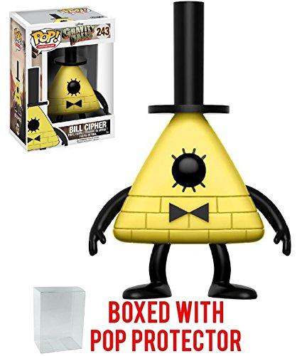 Funko Pop! Animation: Gravity Falls - Bill Cipher Vinyl Figure (Bundled with Pop Box Protector CASE)