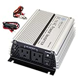 AIMS Power 400 Watt Modified Sine Power Inverter with Battery Cables, 800 Watt Surge Peak Power, and AC Outlets.