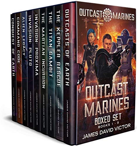 Outcast Marines Boxed Set by [James David Victor]