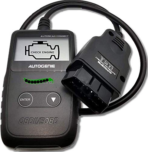 Autogenie Connect OBD2 Auto Diagnosegerät Fehler Codes Auslesen Löschen Lesegerät Display Pkw Fehler-Code Scanner Diagnose Scan Werkzeug